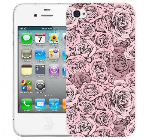 Чехол «Paper Rose» для Apple iPhone 4/4s