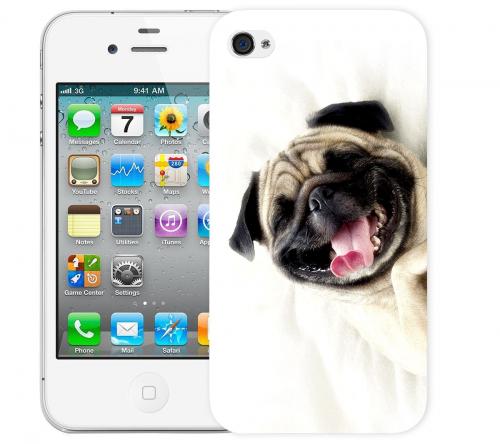 Чехол «Fun dog» для Apple iPhone 4/4s