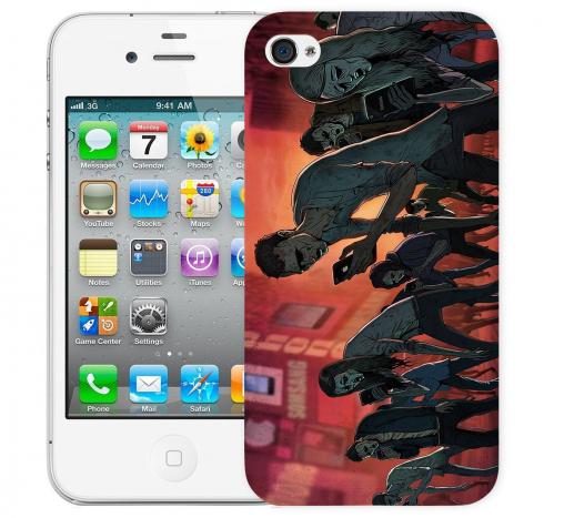 Чехол «Zombie phone» для Apple iPhone 4/4s