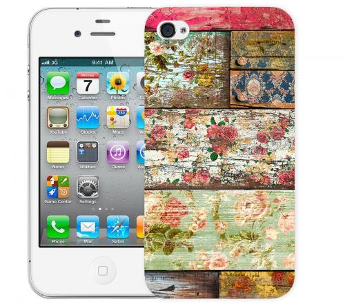 Чехол «Wood» для Apple iPhone 4/4s
