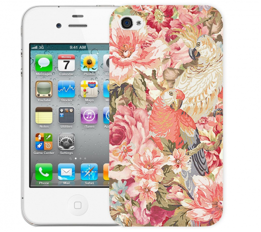 Чехол «Parrot» для Apple iPhone 4/4s