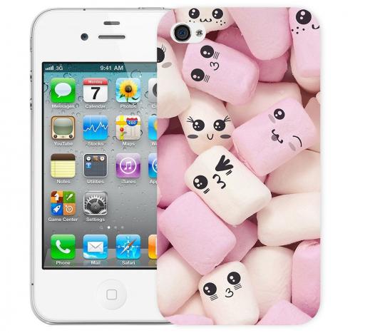 Чехол «Зефирки» для Apple iPhone 4/4s