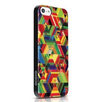 Пластиковая накладка ODOYO Cuben Collection для Apple iPhone 5/5S (+ пленка)
