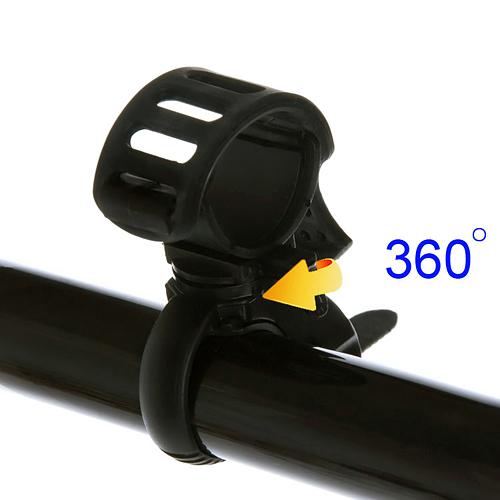 Велодержатель для фонарика (360 градусов, настраиваемый)