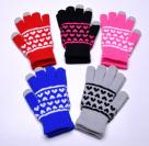 Емкостные перчатки Jacquard Weave