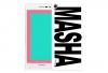 Чехол «Именной MASHA» для Huawei P7