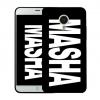 Чехол «Именной MASHA» для Meizu Mx4