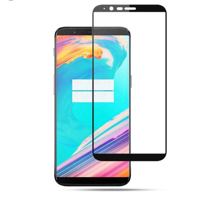 Защитное цветное 3D стекло Mocolo для OnePlus 5T