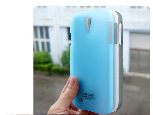 Пластиковая накладка IMAK Water Jade Series для Samsung i9500 Galaxy S4 (+ пленка)