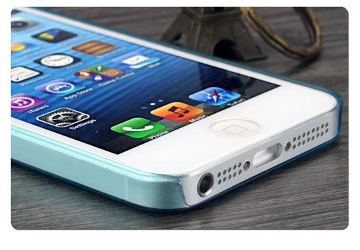 Пластиковая накладка IMAK 0,7 mm Color series для Apple iPhone 5/5S/SE