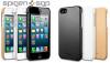 Кожаная накладка SGP Genuine Leather Grip Series для Apple iPhone 5/5S (+пленка)