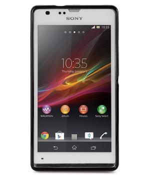 TPU чехол Melkco Poly Jacket для Sony Xperia SP (+ мат.пленка)