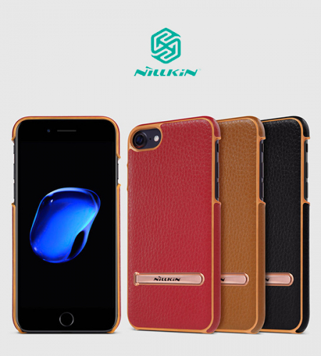 Кожаная накладка с подставкой Nillkin M-Jarl Series для Apple iPhone 7 (4.7