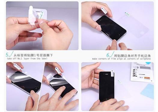 Защитная пленка Nillkin для Samsung i9192/i9190/i9195 Galaxy S4 mini