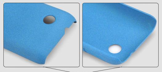 Пластиковая накладка IMAK Cowboy series для Sony Xperia Tipo (ST21i) (+ пленка)