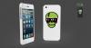 Светящаяся накладка Sleekon Sleekskull_green для Apple iPhone 5/5S