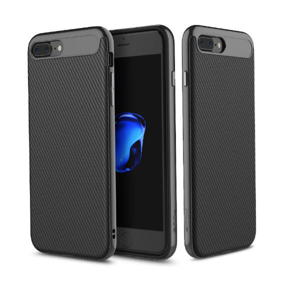 Купить TPU+PC чехол Rock Vision Series для Apple iPhone 7 plus (5.5 ) Черный / Black