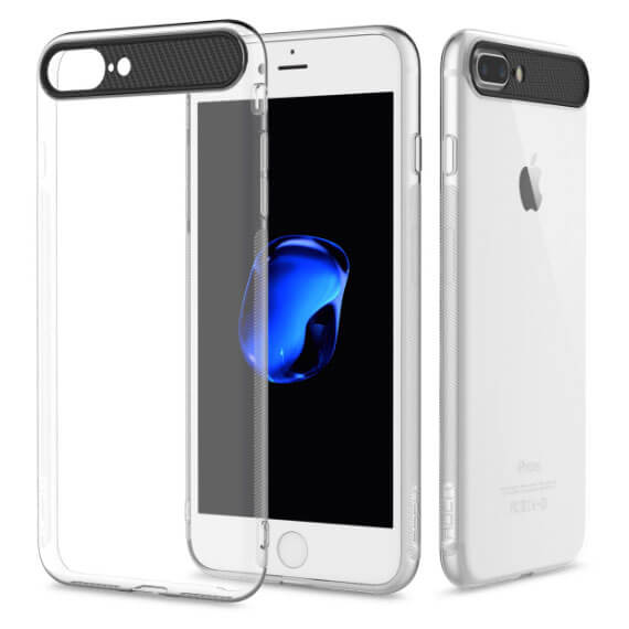 Купить TPU+PC чехол Rock Ace Series для Apple iPhone 7 (4.7 ) Бесцветный / Transparent