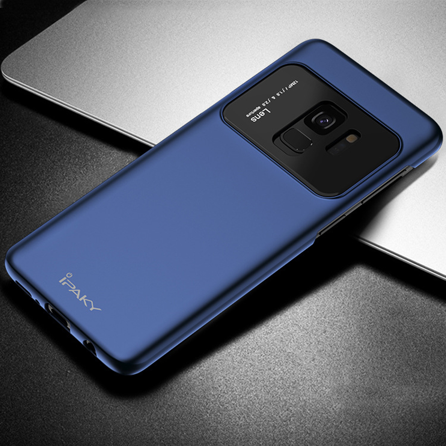 Купить Пластиковая накладка iPaky Lens Case для Samsung Galaxy S9 Синий
