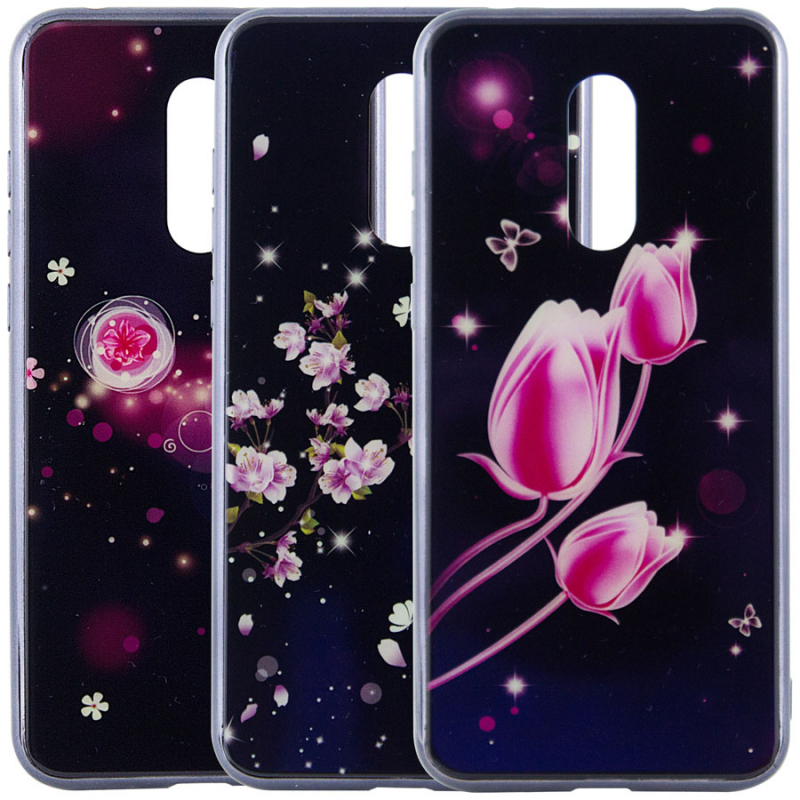 TPU+Glass чехол Fantasy с глянцевыми торцами для Xiaomi Redmi 5 Plus / Redmi Note 5 (SC)