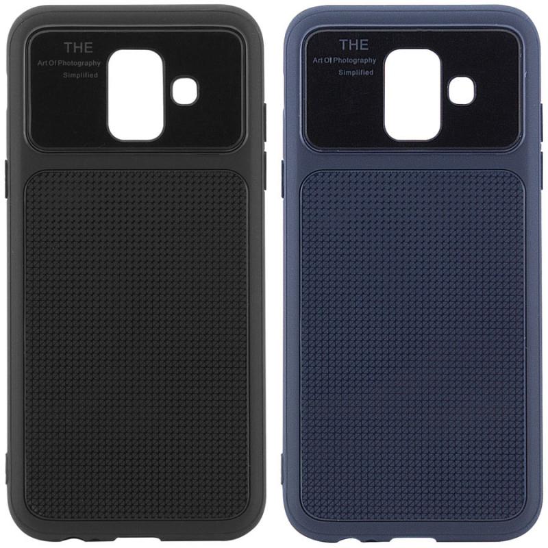 TPU чехол Glossy Half для Samsung Galaxy A6 (2018)
