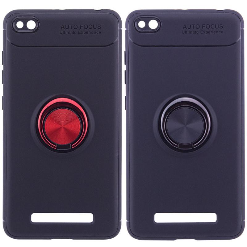 TPU чехол Deen ColorRing под магнитный держатель для Xiaomi Redmi 4a