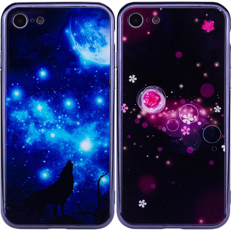 "TPU+Glass чехол Fantasy с глянцевыми торцами для Apple iPhone 8 (4.7"")"