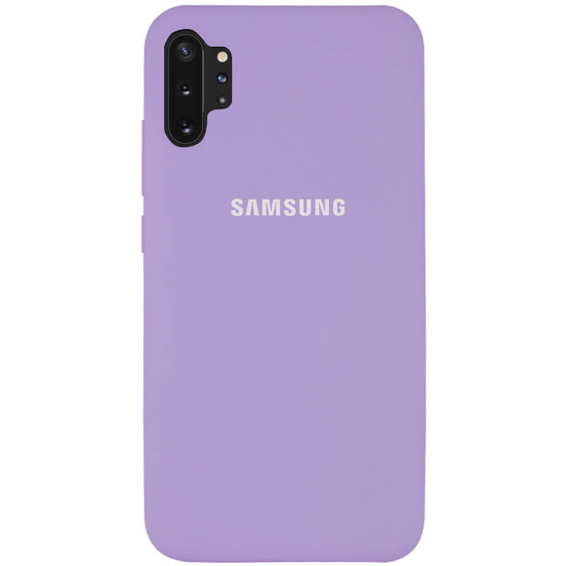 Чехол Silicone Cover Full Protective (AA) для Samsung Galaxy Note 10 Plus