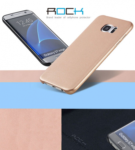 Кожаная накладка Rock Touch series для Samsung G935F Galaxy S7 Edge