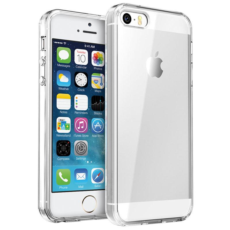 TPU чехол Epic Transparent 1,0mm для Apple iPhone 5/5S/SE
