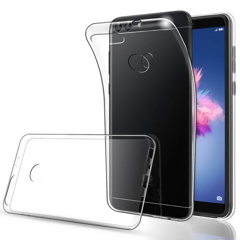 TPU чехол Epic Transparent 1,0mm для Huawei P smart / Enjoy 7S