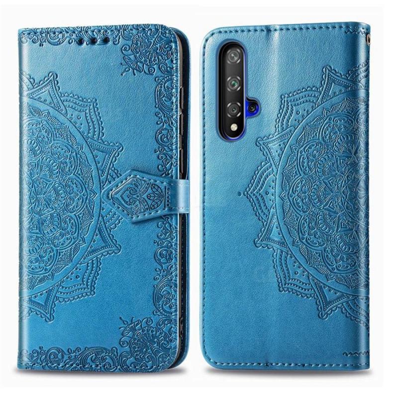 Кожаный чехол (книжка) Art Case с визитницей для Huawei Honor 20 / Nova 5T