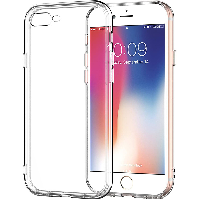 "TPU чехол Epic Premium Transparent для Apple iPhone 7 / 8 / SE (2020) (4.7"")"