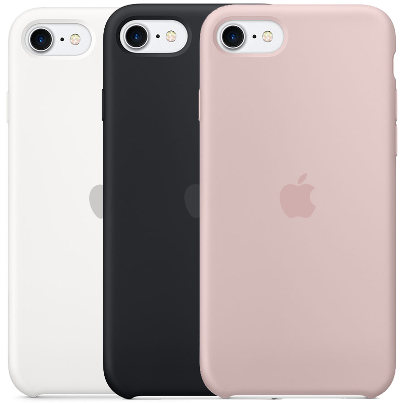 Чехол Silicone case (AAA) для Apple iPhone SE (2020)