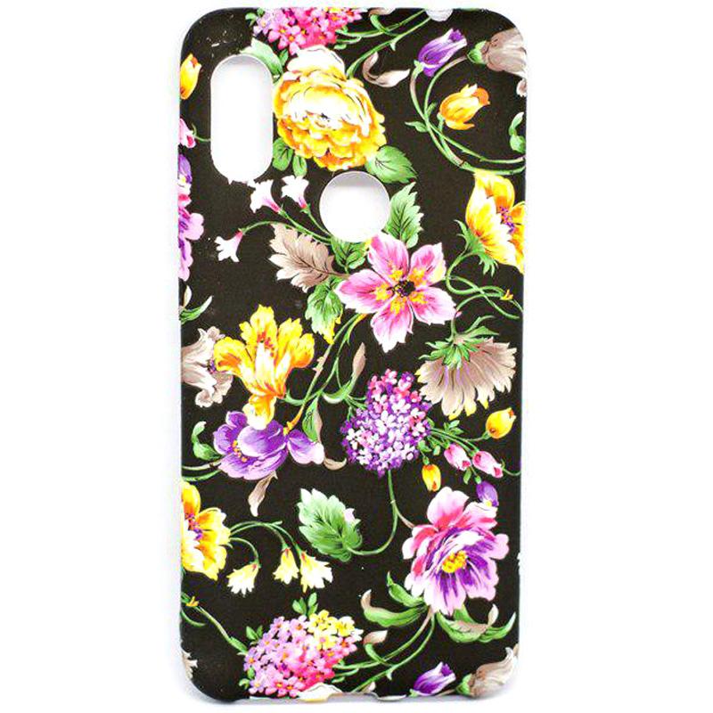 TPU чехол Акварель Flower series для Xiaomi Redmi Note 6 Pro