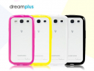 Накладка TPU+PC Dreamplus CHIFFON Series для Samsung i9300 Galaxy S3 (+пленка)