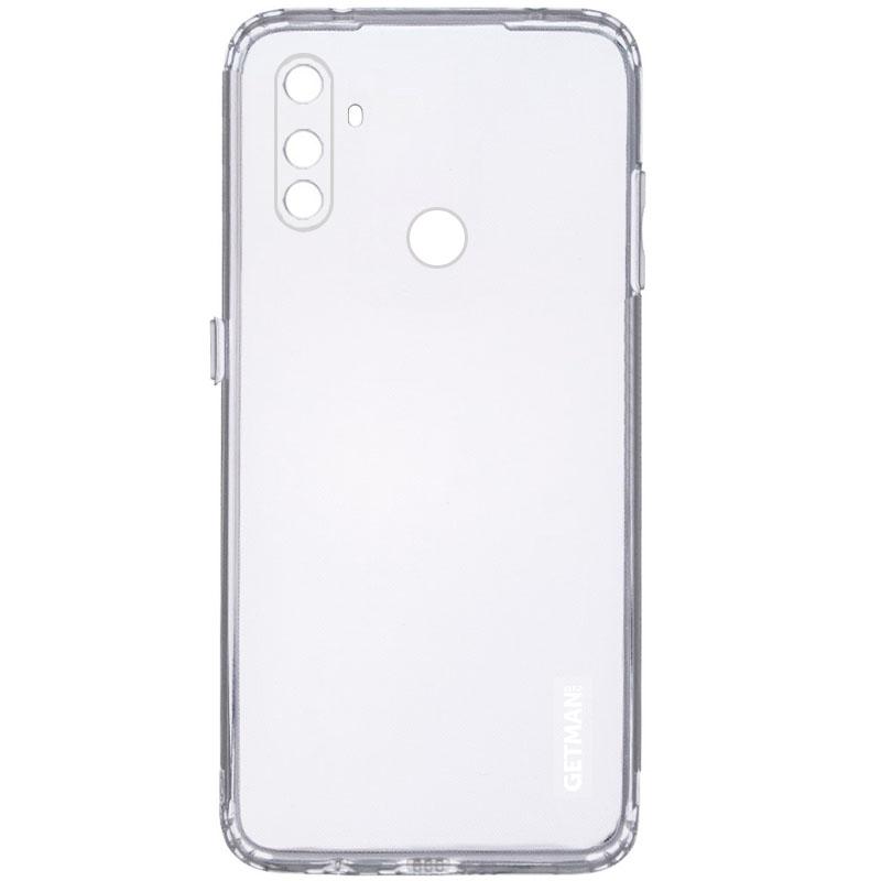 TPU чехол GETMAN Clear 1,0 mm для Realme C3