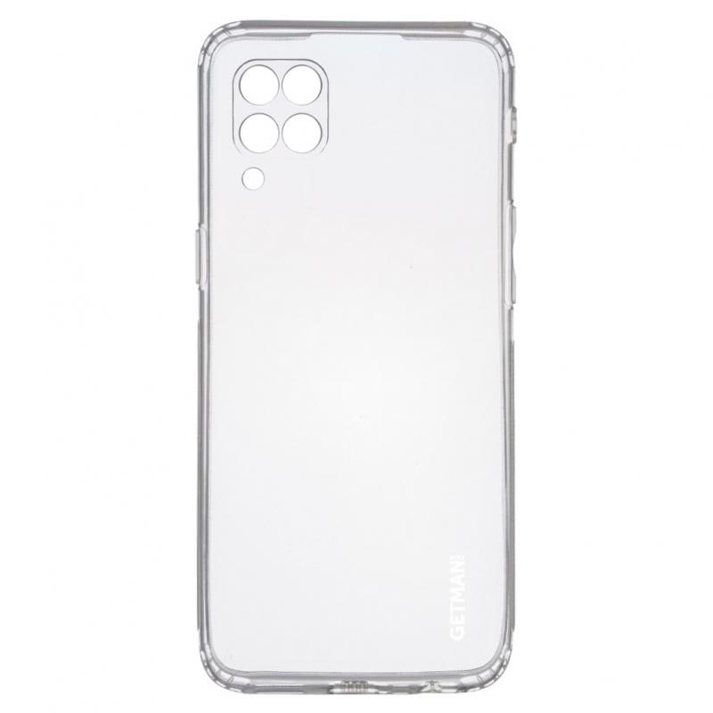 TPU чехол GETMAN Clear 1,0 mm для Huawei P40 Lite