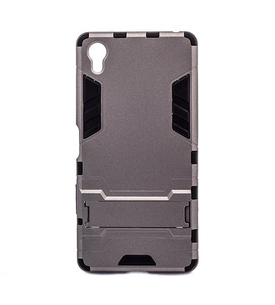 Ударопрочный чехол-подставка Transformer для Sony Xperia X / Xperia X Dual с мощной защитой корпуса