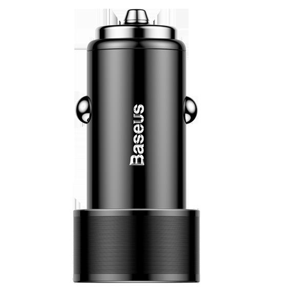 АЗУ Baseus Small Screw (2USB 2xQuickCharge QC3.0 36W)