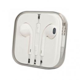 Наушники Apple EarPods с пультом дистанционного управления и микрофоном (high copy)