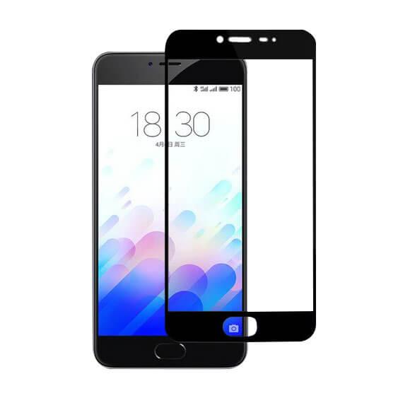 Защитное цветное стекло Mocolo (CP+) на весь экран для Meizu M3 Note