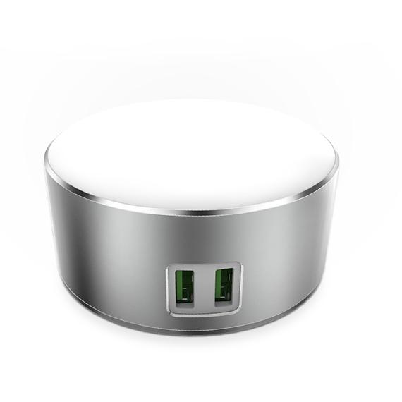 Led Лампа LDNIO A2208 (2.4W) (+2 USB)