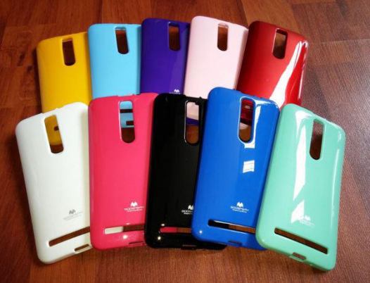 TPU чехол Mercury Jelly Color series для Asus Zenfone 2 (ZE551ML/ZE550ML)