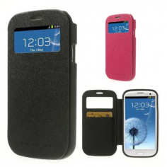 Чехол (книжка) Mercury Wow Bumper series для Samsung i9300 Galaxy S3