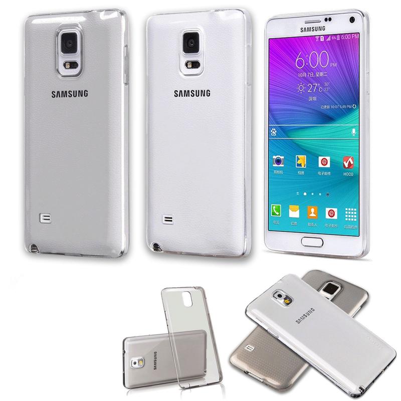 TPU чехол Ultrathin Series 0,33mm для Samsung N910H Galaxy Note 4