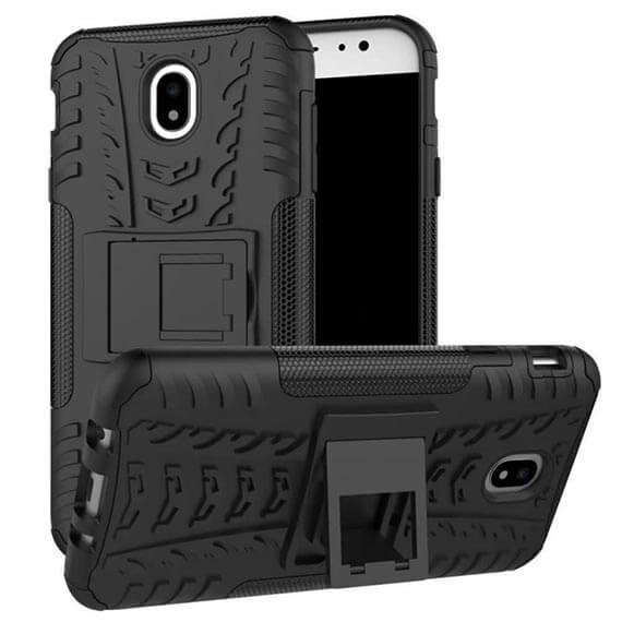 Противоударный двухслойный чехол Shield для Samsung J730 Galaxy J7 (2017) с подставкой