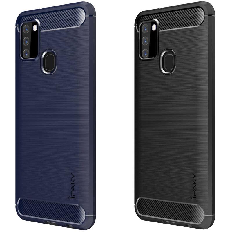 TPU чехол iPaky Slim Series для Samsung Galaxy A21s