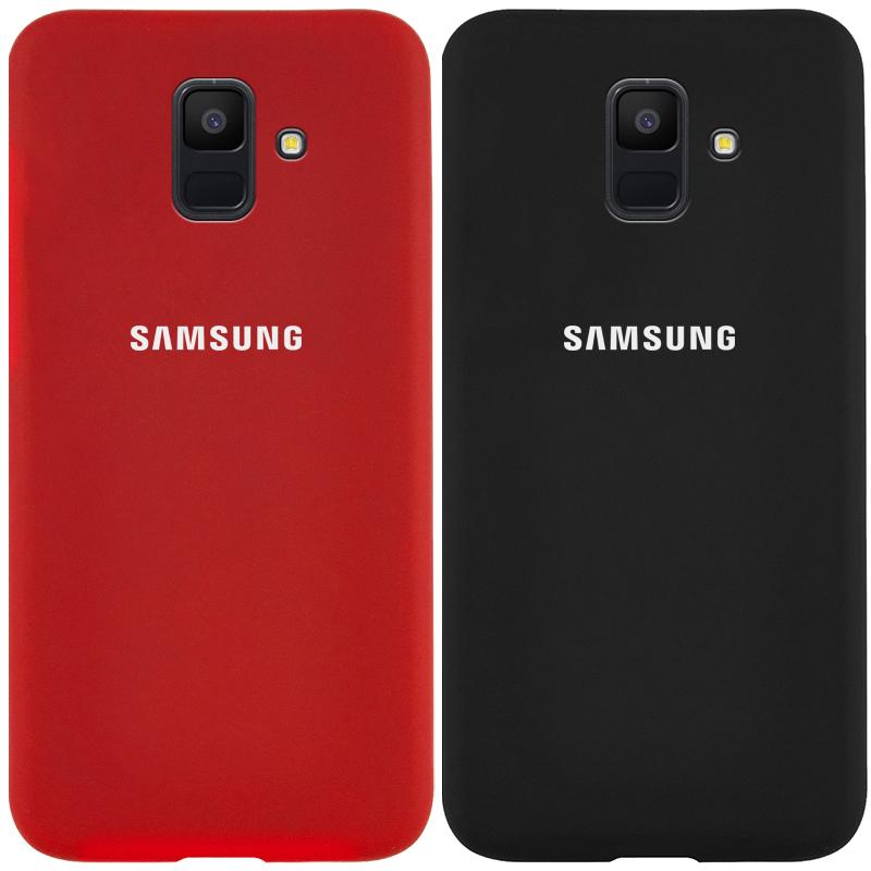 Чехол Silicone Cover Full Protective (AA) для Samsung Galaxy A6 (2018)