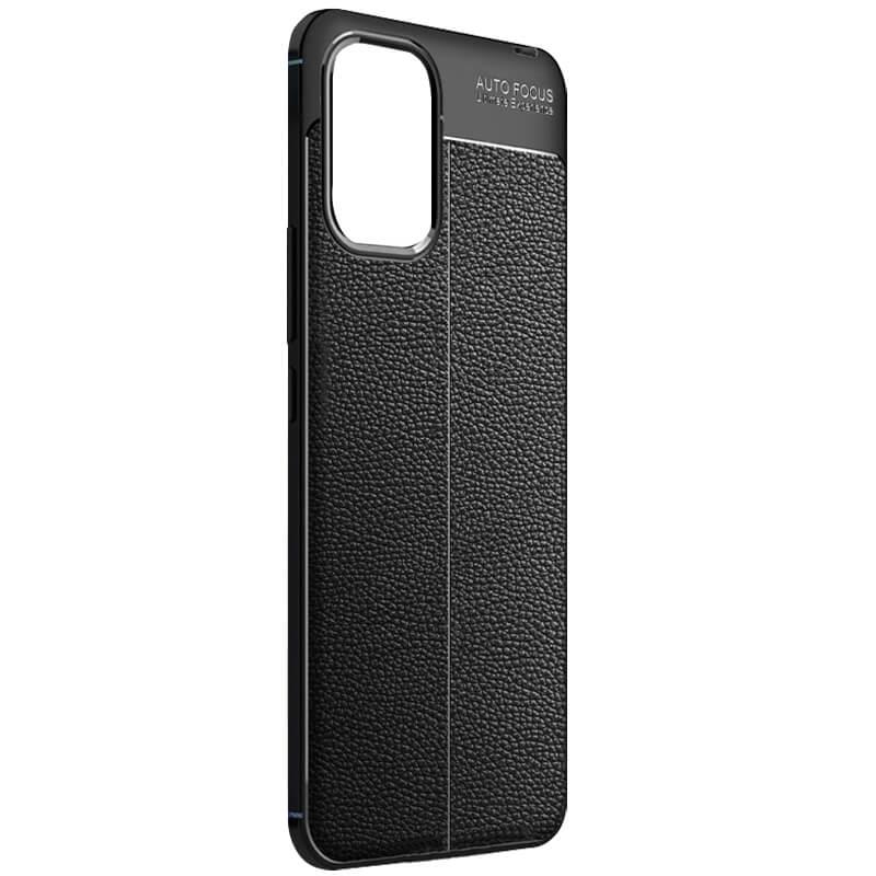 TPU чехол фактурный (с имитацией кожи) для Xiaomi Mi 10 Lite